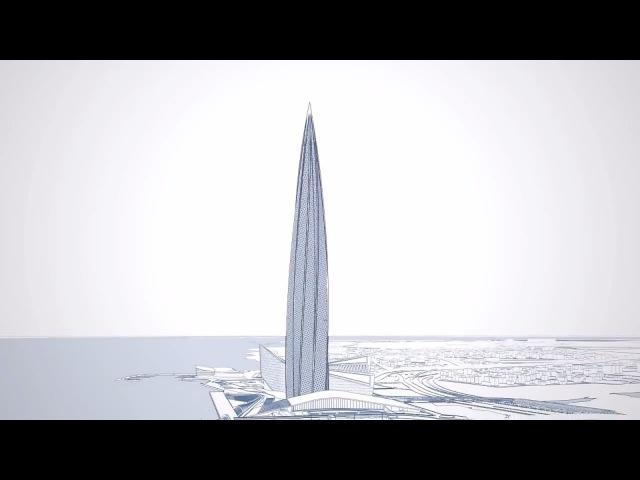 Небоскрёб Лахта Центр Транспортное развитие Санкт Петербурга