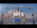 Calum Von Moger путешествие по Venice Beach и Тренировка рук на массу | Episode 5