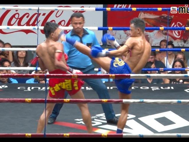 Muay Thai-Satanmuanglek vs Jaroenpon(สะท้านเมืองเล็ก vs เจริญพร),Rajadamnern Stadion,Bangkok,14.7.16