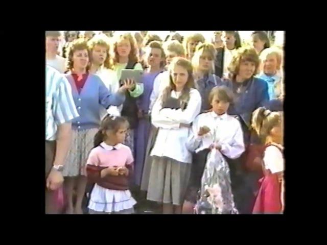 Пение 1994 крещение Лена и Маша Ванчихины