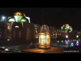 Цветные фонтаны Сахл Хашиш. Colored fountains Sahl Hasheesh