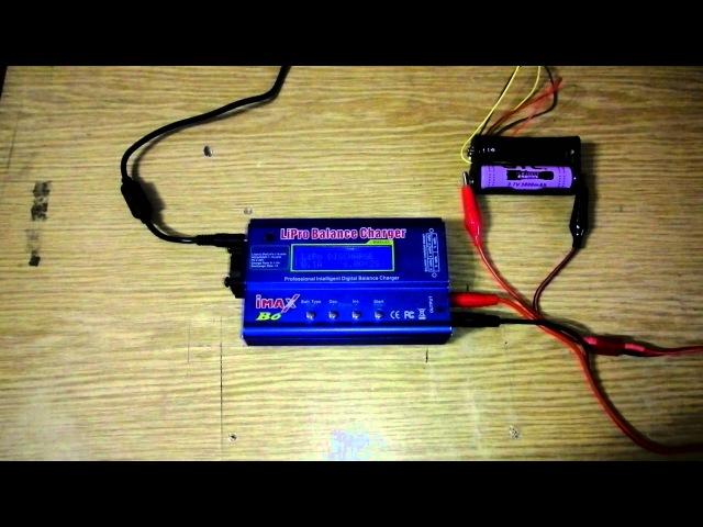 Как узнать емкость аккумулятора при помощи IMax B6 или Turnigy accucel 6
