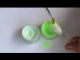 Маникюр ГЕЛЬ ЛАКОМ Градиент акриловой пудрой - Gradient Acrylic Powder Nail Art