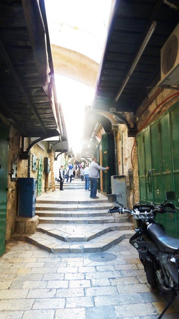 Виа Долороса современного Иерусалима