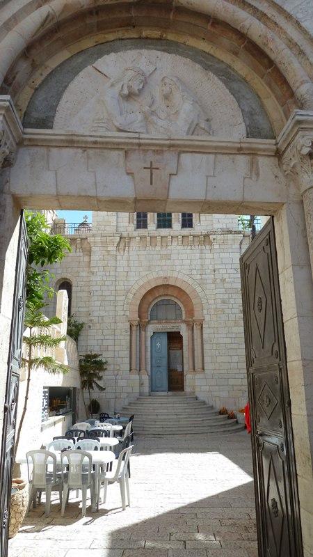 Место встречи Христа с Богородицей