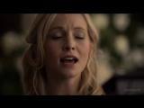Очень трогательный момент. Песня Кэролайн Форбс. Отрывок из сериала  Дневники вампира  6 сез