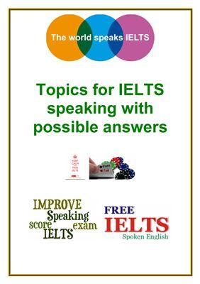 Ielts Speaking Test Pdf