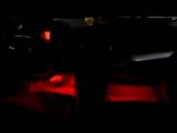 Подсветка ног Mitsubishi Lancer X