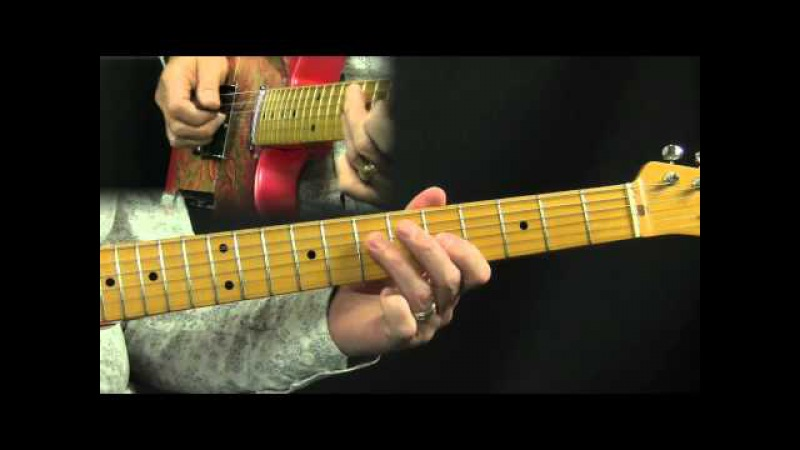 Chicken Pickin Riffin Country Guitar Lesson in the style of Brad Paisley