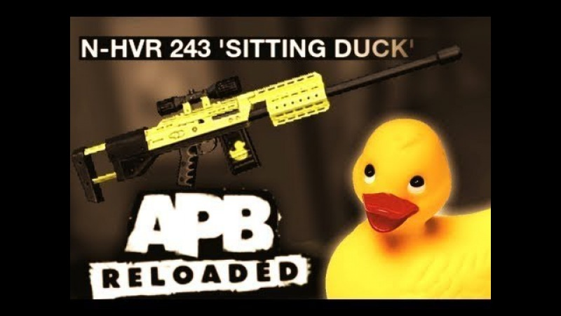 APB Reloaded - N-HVR 243 'Sitting Duck' (Test gravação OBS)