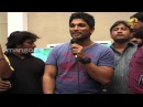 Julayi team at TKR collage - Allu Arjun, Devi Sri Prasad, Attarintiki Daredi Trivikram Srinivas