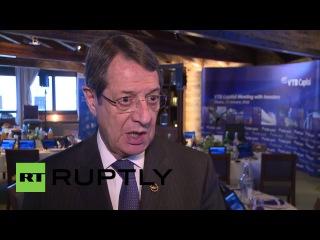 Швейцария: Решительные действия должны быть предприняты для борьбы с терроризмом - Президент Кипра.