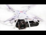 СМОЖЕТ ЛИ : Бюджетный Квадрокоптер Syma X5SC из Китая , поднять Видеокамеру ???