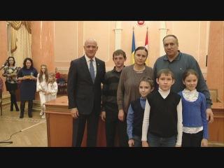Геннадий Труханов: Юные одесситы - в гостях у мэра