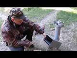 ракетная печь сделай сам