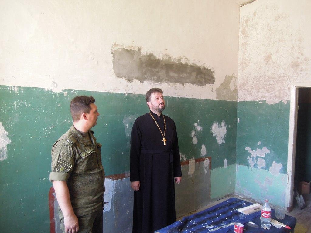 В одной из воинских частей станицы Сторожевой-2 появится молитвенная комната
