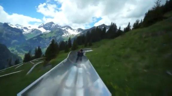 Самая длинная горка в горах