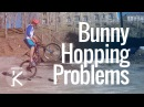 Learning how to Bunny Hop a MTB Problems Mistakes | Skills With Phil
