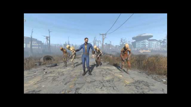 Dancing around The Wasteland [Fallout 4]
