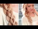 Glam openwork 5-strand braid ✿ Hairstyle for long hair tutorial
