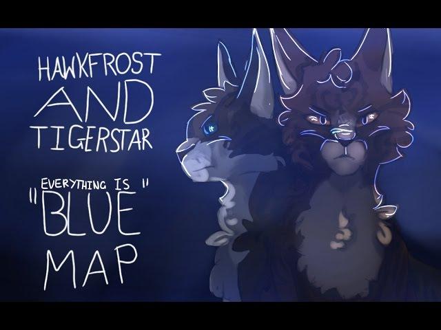 Hawkfrost Tigerstar | Colours | COMPLETE PMV MAP