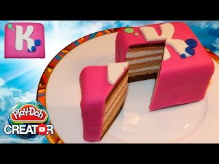 Play-doh Cute Cake for Miss Katy - Плей до торт для Кати (Канал Мисс Кэти)