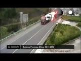 Китай: гонки на горящей фуре