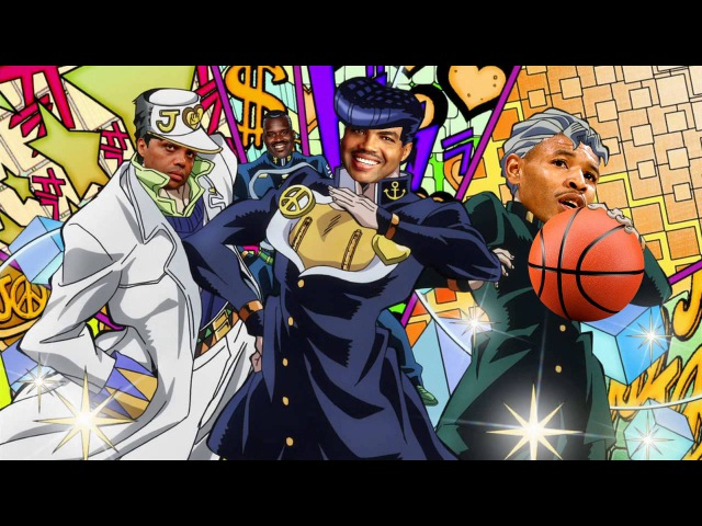 [7.5K] Crazy Noisy Bizarre Slam - Barkley's Bizarre Adventure: Hoop is Undunkable OP