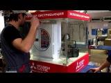 Очиститель Mitsubishi Electric испытание на удаление дыма
