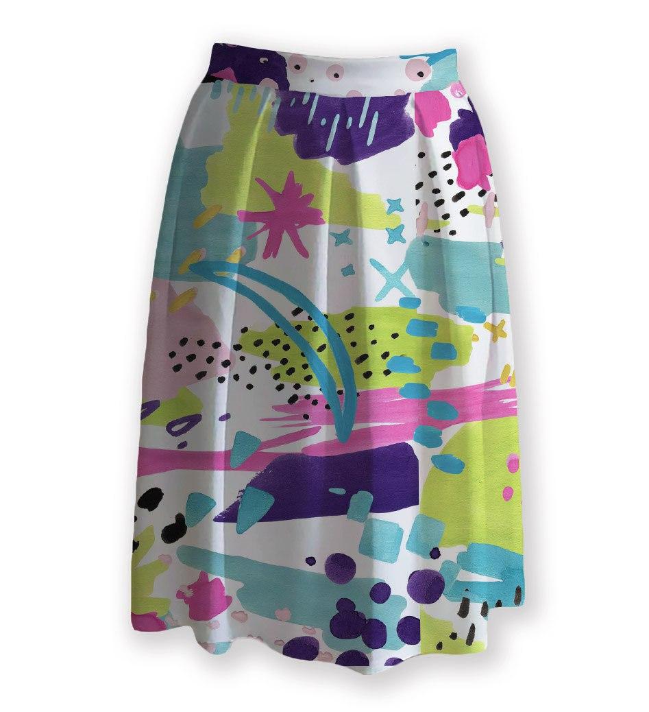 Яркие женские юбки на любой вкус