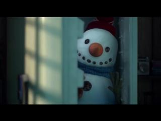 Добрый мультик про снеговика