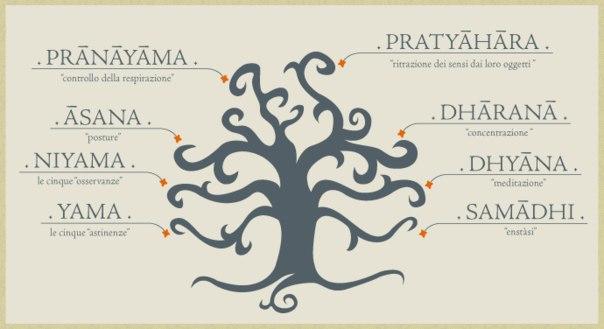 Яма и нияма - это названия двух первых ступеней йоги из восьми, по классификации,