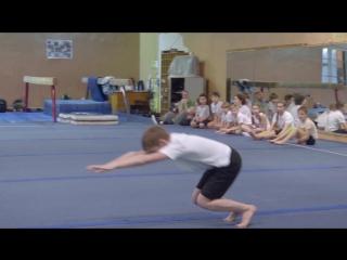 Третьи любительские соревнования Yourways по акробатики для детей