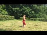 Мой танец. Группа Штар. Красное платье.