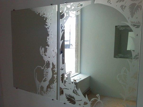 Матирование стекол и зеркал#Услуги@catalogbi       Идея по организ