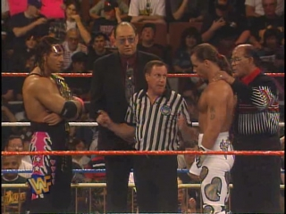 10. 1996.03.31 - Shawn Michaels vs. Bret Hart (WWE WrestleMania XII, 60-Minutes Iron Man Match, WWF Championship)