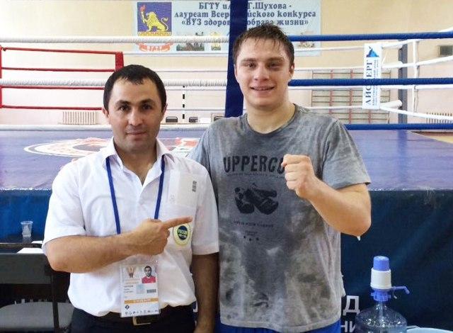 Боксёр из  Карачаево-Черкесии золотой призер Всероссийской летней Универсиады