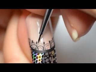 Фольга для ногтей. Идеи дизайна ногтей с использованием фольги