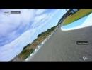 Бортовые видео прохождения круга трассы Херес на Suzuki