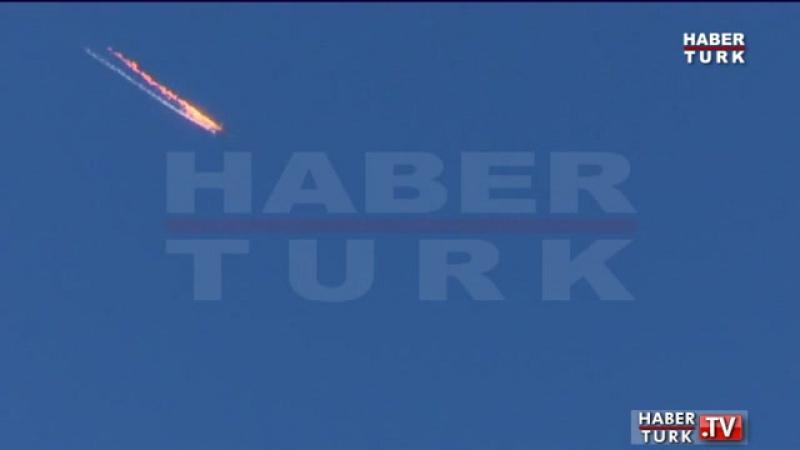 Турцыя збіла расейскі самалёт!