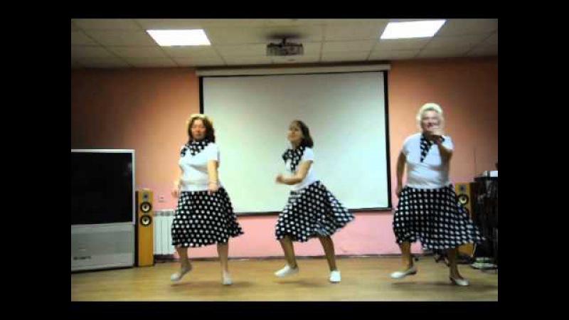Группа Второе дыхание. Пенсионеры танцуют рок-н-ролл.