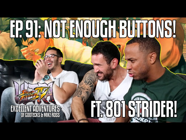 NOT ENOUGH BUTTONS The Excellent Adventures of Gootecks Mike Ross ft WFX 801 STRIDER Ep 91