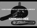 Cómo poner bielas Shimano Hollowtech II (Shimano Zee)