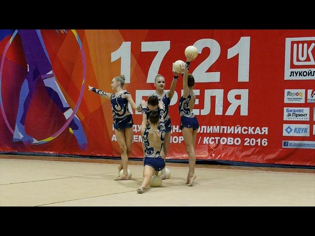 Групповые упражнения/РФСО СПАРТАК/КМС/Санкт-Петербург ДЮСШ Центрального района