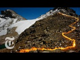 Fire and Ice Mount Kenyas Lost Glaciers The New York Times