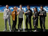 Sonakshi Sinha - Anil Kapoor - Hrithik Roshan - welcomed by Bale, Modric and Benzema