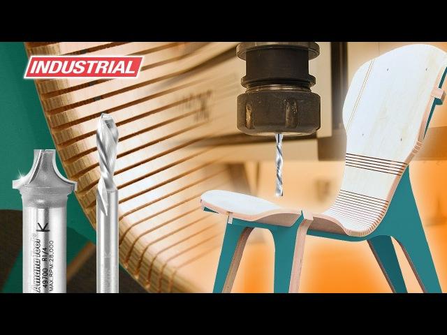 CNC Project Kerf Chair Designed by Boris Goldberg ToolsToday