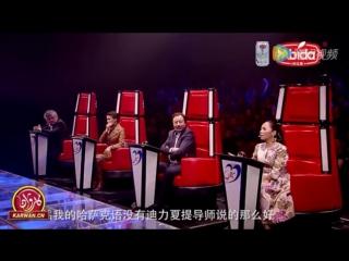 Казахский певец настолько поразил уйгурских судей, что они запели на казахском языке - 1465083890395