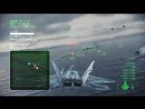 Ace Combat Infinity F-22A Mobius 1 10 lv., Test LAAM 5lv., Adriatic Sea