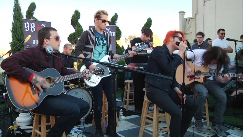 My Chemical Romance - Summertime (Live Acoustic at 98.7FM Penthouse)